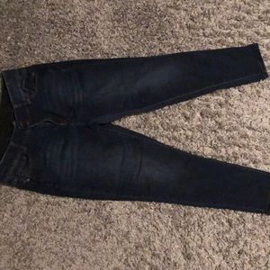 Lane Bryant skinny jeans w/ tummy tightening  EUC